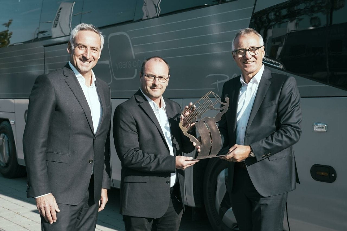 Туристический автобус года 2022