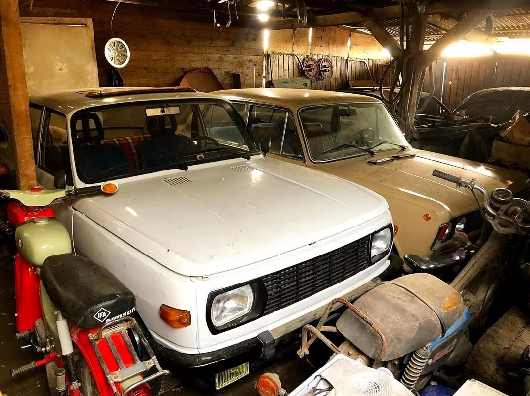 В Европе найдена уникальная коллекция советских автомобилей (фото) 1